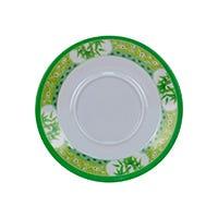 Plato para taza decorado Bambú verde