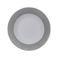 Plato sopero 10.5 Premium Elegantza gris