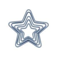 Juego cortadores de galletas Estrella 5 piezas
