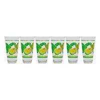 Juego de 6 vasos Casale Limones