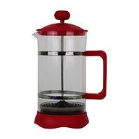 Prensa para café con tapa roja