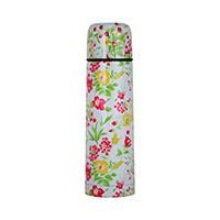 Thermo de acero inoxidable con diseño floral de 750 ml