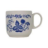 Taza café 225 ml Ánfora Laila azulejo