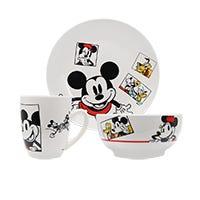Vajilla Mickey and Friends Siglo XXI 12 piezas